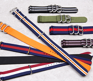 Nylon Military NATO style Watch Straps